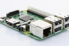 RaspBerry Pi 3 von der Seite